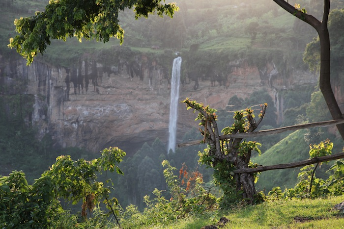 The great Sipi Fall